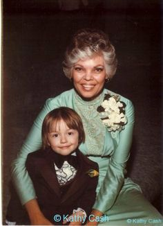 Vivian and her grandson, Kathy's son.