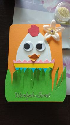 Egg Art, Easter Crafts For Kids, Kids And Parenting, Granola, Easter Eggs, School, Vegan Cake, Christmas, Bunny Rabbit