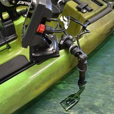 Kayak & Canoe Sounder & Transducer Mounts    The Sounder & Transducer Mount Kit has been developed for  kayak anglers needing an easy way to install and remove fish finders or sounders. With this kit you can install and uninstall your fishfinder or sounder in a matter of seconds, no messy adhesives or