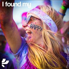 The Color Run!! @Hannah Hassler and I are doing it next month!!!! Yay! #excited