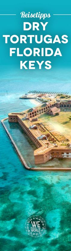 Florida Keys things to do: Unser Florida Keys Tipp – ein Schnorchelausflug zum Fort Jefferson im Dry Tortugas Nationalpark