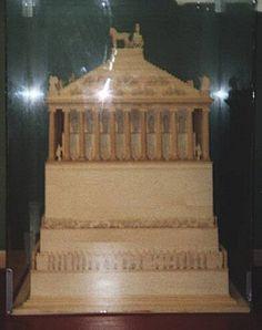Das Mausoleum von Halikarnassos in Bodrum in der Türkei British Museum
