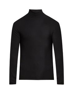 ATM Roll-neck ribbed-knit sweater