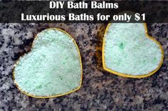 DIY Bath balm instructions - make your own - around $1