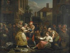 Collet, John; The Female Bruisers; Museum of London; http://www.artuk.org/artworks/the-female-bruisers-50752