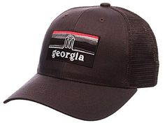 544d0e639a5 University of Georgia Bulldogs UGA Landmark Grey Zephyr Cap Hat