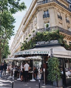 "73 Likes, 4 Comments - Ajda • Leap Into Lovely (@leapintolovely) on Instagram: ""The magnificent @cafedeflore_paris #LovelyEuroTrip2017"""
