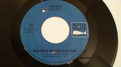 Matthew Moore Plus Four: Codyne (She's Real) (Rare Garage Rock 45 RPM) White W #GarageRock