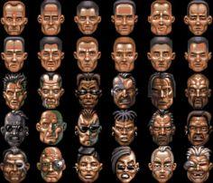 SpeedBall 2 Players Arcade, Commodore Amiga, Retro Video Games, Retro Games, Goofy Face, Pixel Characters, 8 Bit Art, Pixel Art Games, Game Concept