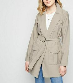 EX M/&S LADIES WOMENS NAVY PINK Belted Trench Coat 8 10 12 14 16 18 20 22