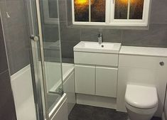 Oxon Ltd Building & Plumbing. Builder Based in Didcot, Offering Kitchen and Bathroom Renovations, Extensions and many Modern Bathroom Decor, Grey Bathrooms, Bathroom Colors, Bathroom Ideas, Bathroom Designs, Master Bedroom Bathroom, Family Bathroom, Rv Bathroom, Toilet Room