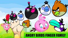 Angry Birds Finger Family Song | Nursery Rhymes For Childrens || Dady Fi...
