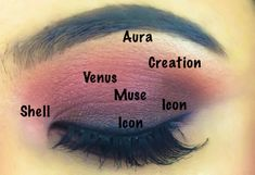 Oh wow. Here's one way to use Most of the Venus Grunge Palette in one look..