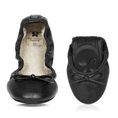 Butterfly Twists Penelope - Black £33.00 - Butterfly Twists Fab Flip Flops