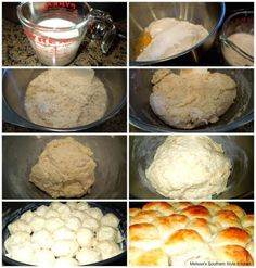 These Easy No Knead Yeast Rolls made a no knead believer out of me. Easy to make and even easier to eat warm slathered with butter. No Knead Bread, Yeast Bread, Bread Baking, Yeast Biscuits, Bread Bun, Corn Bread, Buttermilk Biscuits, Baking Tips, Best Yeast Rolls