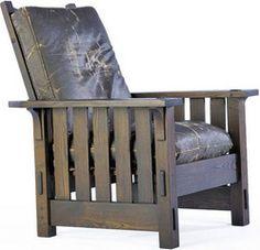 Gustav Stickley Morris Chair