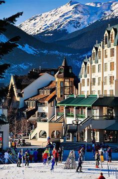Whistler, Canada. We spent the day here - 6/2013.  Will definitely come back during ski season.