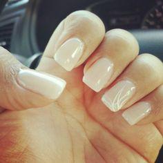 Nude nails natural nails