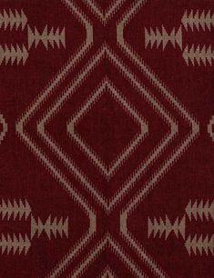 Navaho Fabric (Red)