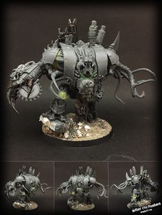 A small update on the Defiler and the Helbrute: I've begun bulking up the defiler - and please note that not all of the parts are final (e. Insect Legs, Necron Army, Chaos Legion, Sculptures, Lion Sculpture, Imperial Knight, Warhammer Models, Warhammer 40k Miniatures, Mini Paintings