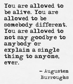 #life #truism You're allowed, if you'll just permit yourself. Yer driving, life is your canvas. Paint it in whatever way you need to, yo. Don't forget it. ;)