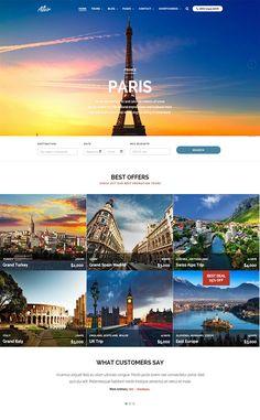 Altair Responsive Travel/Tour Agency Theme