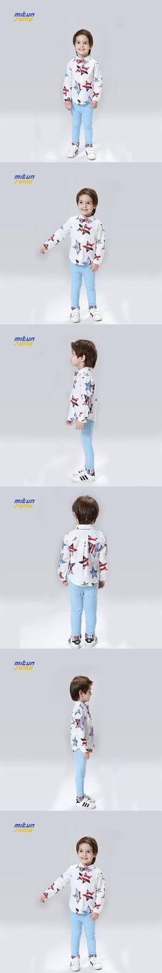 110-150cm Star Shirt Boys Clothes Kinderkleding Jongens Kids Clothing Roupas De Menino Roupa Menino Boy Clothing 09