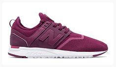 NEW BALANCE 247 VIOLET Baskets Femmes Sneakers Pink Purple Berry WRL247EB