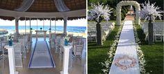Real fabric aisle runners for elegant weddings #realfabricaislerunners, #beautifulweddingaislerunners