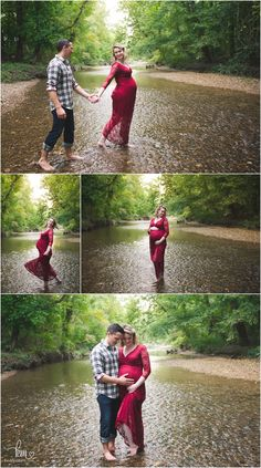 Flirty and Fun Maternity Session – Indianapolis Photographer creek maternity photography – couple in water expecting Flirty and Fun Maternity Session – Indianapolis Photographer creek maternity photography – couple in water expecting Outdoor Maternity Pictures, Fall Maternity Photos, Maternity Poses, Maternity Portraits, Pregnancy Photos, Maternity Photographer, Maternity Photography Outdoors, Couple Photography, Photography Ideas