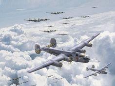 B-24 Bomber Flight