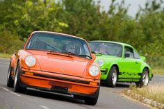 Lime Green 1974 2.7 and 1976 Orange 3.0 Carrera — The Classic Porsche Blog
