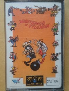 JUEGO ORIGINAL MORTADELO Y FILEMON MAGIC BYTES DRO SOFT SPECTRUM SINCLAIR 1988