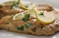 Skinny Taste Chicken Francese - 7 points