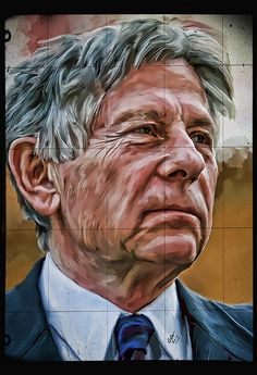 Roman Polanski http://batiesphotography.com #horror #movies #romanpolanski #digitalart