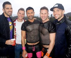 A Sunday afternoon Los Angeles party with jocks, red cups, and football. And 100 percent of the donations was split between two charities: The Trans Chorus of Los Angeles and The University of Tennessee LGBT Center. Everybody won.