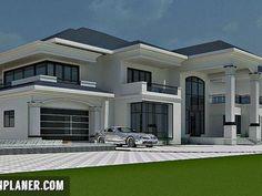 67 dream house interior design ideas to inspire you 4 Modern Exterior House Designs, Modern Architecture House, Dream House Exterior, Modern House Design, Duplex Design, Classic House Design, Bungalow House Design, House Front Design, House Plans Mansion