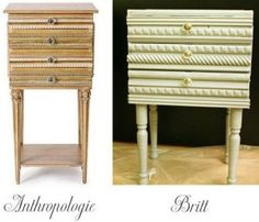 How-To: DIY an Anthropologie Curator Table Upcycled Furniture, Furniture Projects, Furniture Makeover, Home Projects, Diy Furniture, Anthropologie, Diy Nightstand, Diy Home Crafts, Diy Table