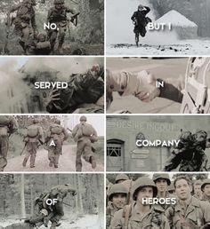 Movie Characters, Series Movies, Movies And Tv Shows, Band Of Brothers Quotes, Tv Band, America Band, Airborne Army, We Happy Few, Brass Knuckles