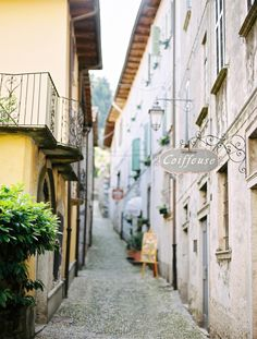 Orta San Giulio Alley | photography by http://www.alexanderjamesphotography.co.uk/