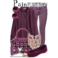 """""""Pain"""" by lalakay on Polyvore"""