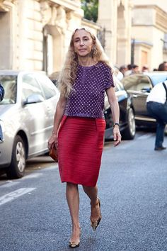Franca Sozzani, editor-in-chief of Italian Vogue