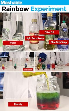 *Light* Learn 5 scientific principles using common household items. Preschool Science, Teaching Science, Science For Kids, Easy Science, Student Teaching, Science Activities, Science Projects, Activities For Kids, Science Ideas