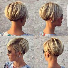 60 Chic Short Bob & Haircuts for Women, 60 Chic Short Bob Hairstyles & Haircuts for Women Girls Short Haircuts, Short Hairstyles For Women, Hairstyles Haircuts, Cool Hairstyles, Hairstyle Ideas, Pixie Haircuts, Hair Ideas, Hairstyle Short, Asymmetrical Hairstyles