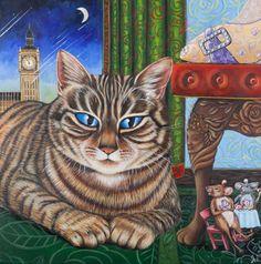 "Saatchi Art Artist Ira Mitchell-kirk; Painting, ""The Royal Tea Party"" #art"