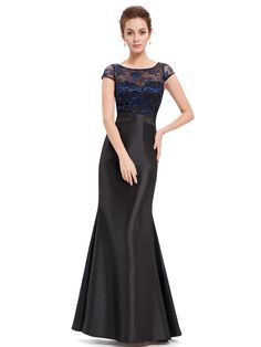 Lace Mermaid Evening Dress