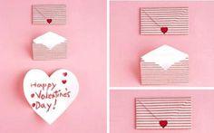 Como hacer una tarjeta para San Valentin