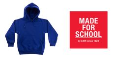 Warm and toasty from the head to the belly!  Warm up your cold schoolkids in our Essential Hoodie, with kangaroo pockets there's room to warm up those cold hands.  Order online today!