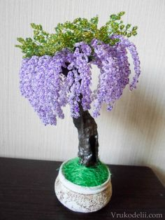 Wisteria Beaded (Russian)