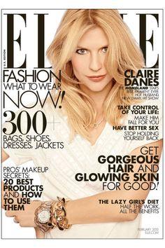 Claire Danes, ELLE magazine, February 2013
